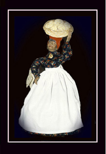 Click here to view closeup of the African American Doll, The Cala Lady Doll