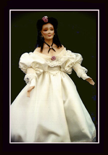 Click here to view closeup the American Heritage Doll, Brianne, A Southern Belle